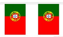 PORTUGAL BUNTING - 3 METRES 10 FLAGS